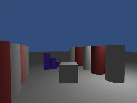 My first Unity3D test